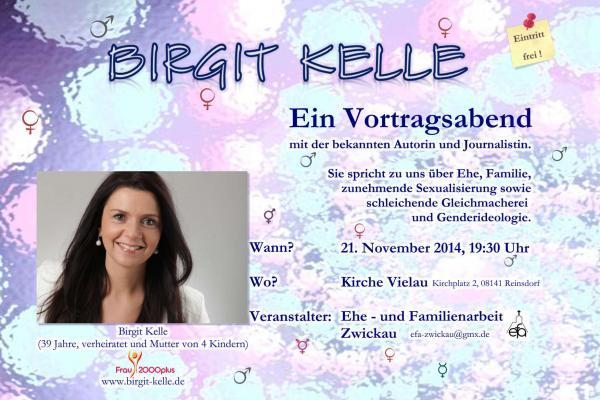 Vortragsabend mit Birgit Kelle